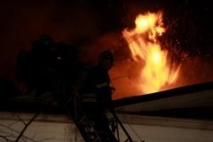На западе Тамбова произошел пожар, есть пострадавшие