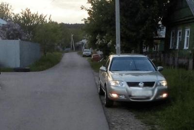 В Рассказово мужчина сбил 6-летнюю девочку