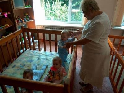 В Тамбовском доме ребенка проводится большой ремонт