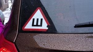 """Тамбовских водителей будут штрафовать за отсутствие наклейки """"Шипы"""""""