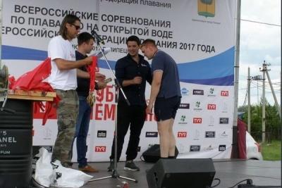 Спортсмен из Тамбова выиграл соревнования по плаванию в открытой воде
