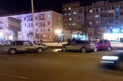 В Тамбове на улице Интернациональной произошло массовое ДТП