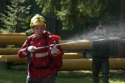 Первой девушкой в конкурсе лучших лесных пожарных стала тамбовчанка
