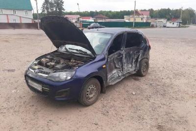 """Под Тамбовом водитель """"Калины"""" столкнулся с пассажирским автобусом: есть пострадавшие"""