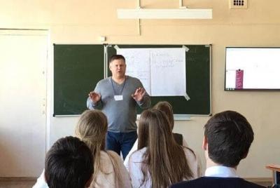 Доцент Тамбовского филиала РАНХиГС провёл лидерский тренинг для школьников