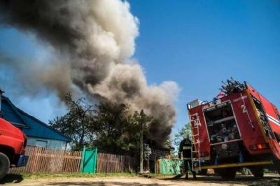В Мордово при пожаре пострадал годовалый ребёнок