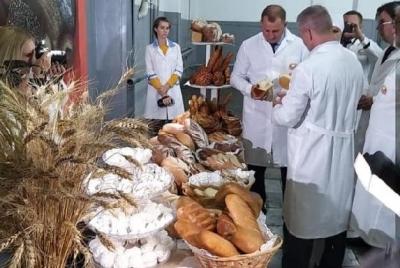 В Тамбовской области запущена новая линия по производству хлеба