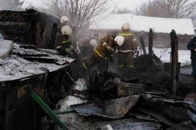 Пожар в Сампурском районе унёс жизни четырех человек, в том числе 5-летнего ребёнка