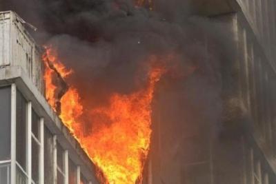 В квартире на Агапкина случился пожар из-за окурка от соседей