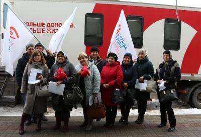 Более 60 человек стали участниками донорской акции в Сосновском районе
