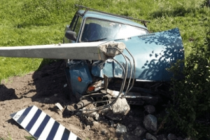 ВТамбовском районе водитель «легковушки» заснул зарулем