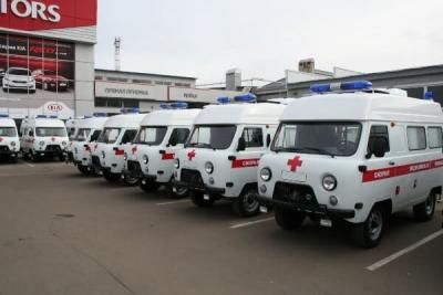 В Тамбовскую область поступят новые машины скорой помощи