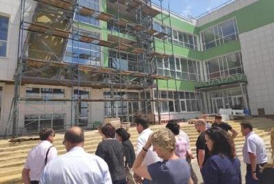 Строительство новой школы в Мичуринске завершается