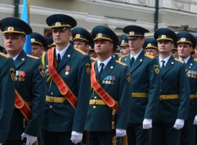 50-ти сотрудникам Главного управления МЧС по Тамбовской области выпала честь участвовать в военном параде