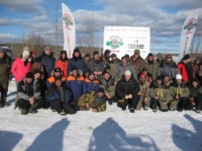 """Рыболовный фестиваль """"Зимний хищник"""" собрал более 50 участников"""
