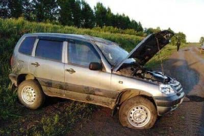 В Рассказовском районе скончался водитель перевернувшейся легковушки
