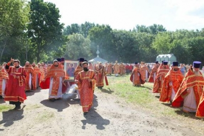 В Тамбовский район привезут ковчег с частицей святых мощей целителя Пантелеимона