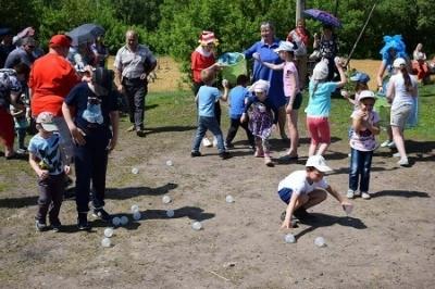 В международный день семьи в Тамбове устроили праздник детям с особенностями здоровья