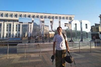 5000 километров пешком: волонтёр из Петербурга сделал остановку в Тамбове
