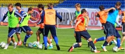 Игроки ФК «Тамбов» начали тренировки. В этом сезоне они впервые в истории клуба будут играть в Первенстве ФНЛ