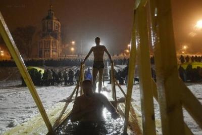 В Тамбове назвали места для купания в Крещенскую ночь