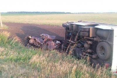 В Уваровском районе в ДТП погиб водитель