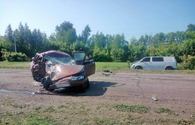 В Сосновском районе в аварии погибли две женщины