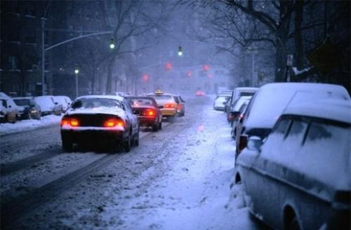 Первый снег стал катастрофой для тамбовских водителей