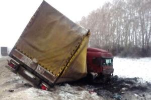 """В Кирсановском районе столкнулись """"Лада Калина"""" и грузовик: есть пострадавший"""
