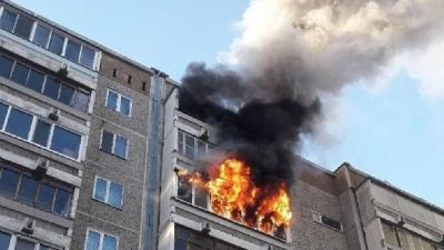 В Тамбовской области из горящей квартиры спасли 82-летнюю пенсионерку