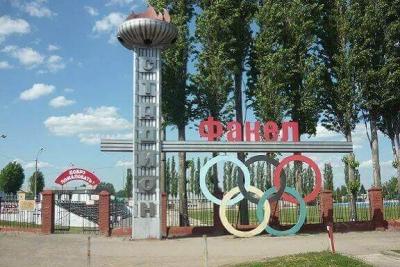 В Первомайском районе футбольные ворота упали на ребенка