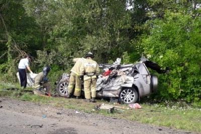 В Мичуринском районе произошло тройное ДТП: есть жертвы