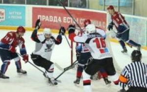 """В матче с ХК """"Мордовия"""" тамбовские хоккеисты забили три шайбы"""