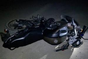 ВРжаксе подросток намотоцикле врезался вшлагбаум ипогиб