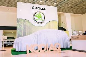 В Тамбове презентовали первый семейный внедорожник ŠKODA KODIAQ