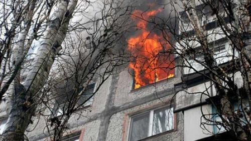 В Тамбове вспыхнул крупный пожар, есть жертвы
