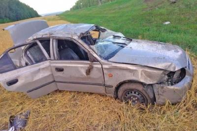 Под Тамбовом иномарка вылетела в кювет: водитель в больнице