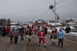 Вгороде Рассказово пройдет парад Дедов Морозов
