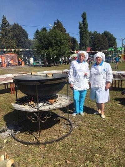 На фестивале в Токарёвском районе для гостей приготовили 200 литров куриной лапши