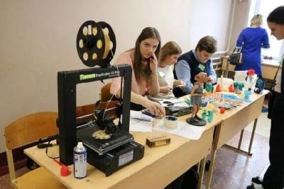 В Рассказовском районе школьники будут работать с 3D-принтерами