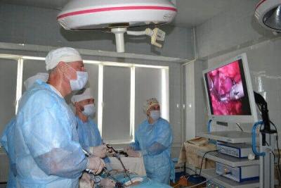 Тамбовские хирурги освоили новый метод лечения рака почки