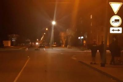 В Тамбовской области легковушка столкнулась с мотоциклом: двое в больнице