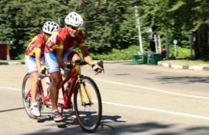 Тамбовские спортсмены привезли из Рязани две золотых и две серебряных медали с Кубка России по велоспорту слепых