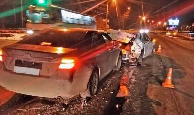 """На Рассказовском шоссе столкнулись две """"Тойоты"""": есть пострадавшие"""