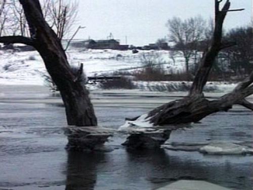 Начало паводка в Тамбовской области