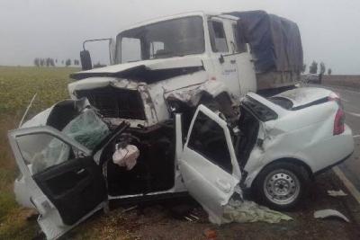 В Тамбовской области в ДТП погибла женщина и грудной ребенок