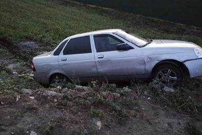 В Сампурском районе водитель легковушки пошел на обгон и спровоцировал ДТП