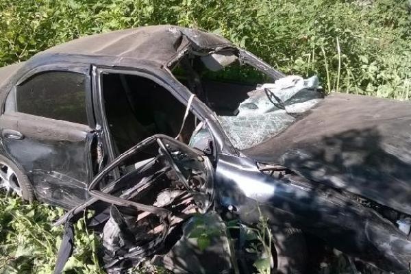 В Тамбовской области иномарка вылетела в кювет: пассажир скончался