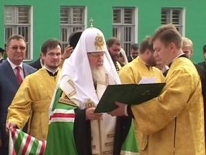 Вобластном центре открылся памятник Питириму Тамбовскому
