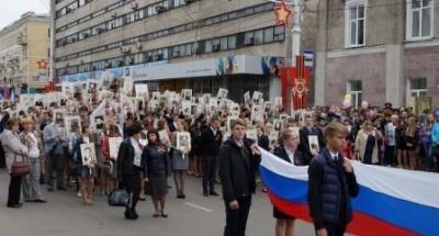 9 мая по улицам городов Тамбовской области снова прошагает бессмертный полк